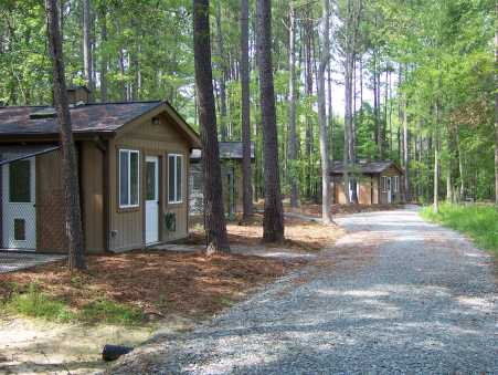 cabins on trail